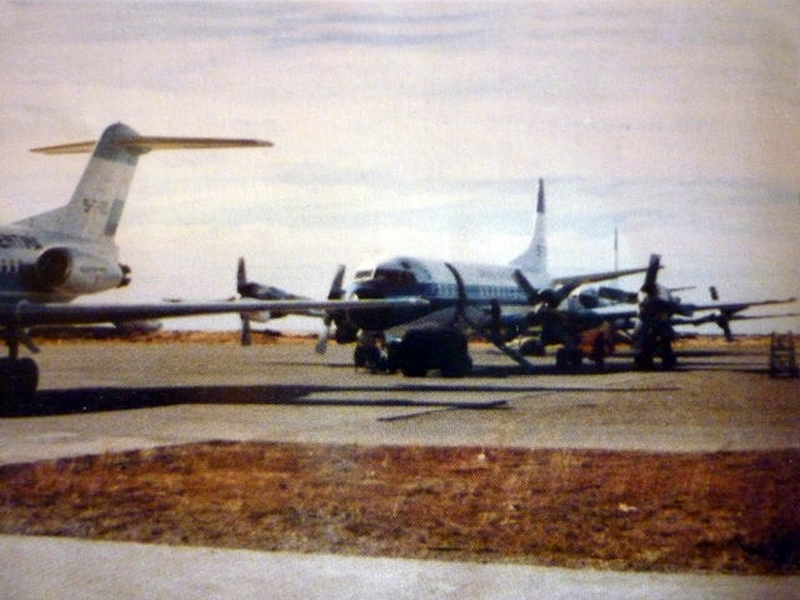 Post Stanley Airport 1982 - Post Invasion Consolidation