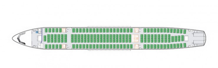 A330 MRTT Upper Deck seating configuration