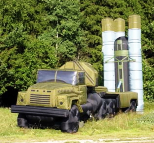 Inflatable Missile System Decoy