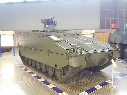 ASCOD 2 Protected Mobility (Essentially FRES SV without UK armour package)