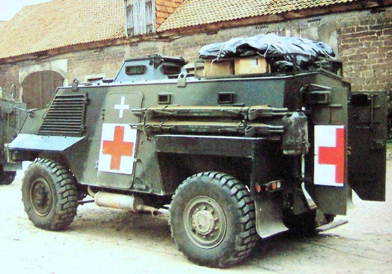 Saxon ambulance