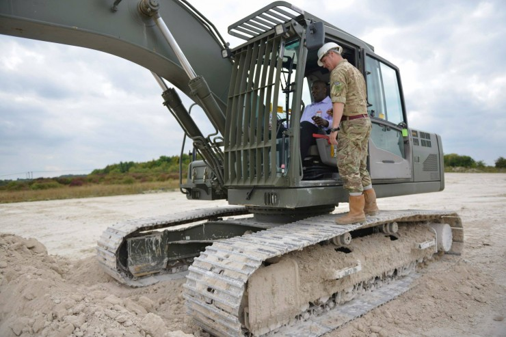 Theological students hosted by 22 Engineer Regiment