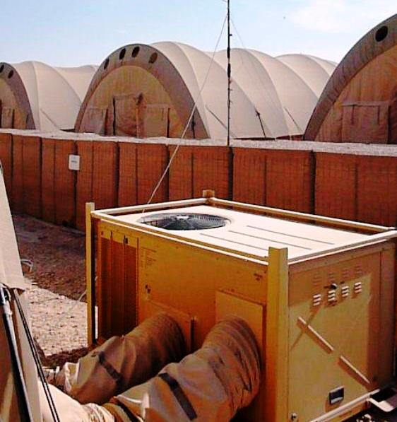 Temporary Deployable Accommodation (TDA) 01