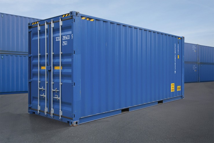 03 - 20ft High Cube ISO Container