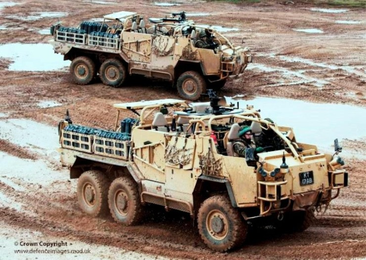 Coyote Tactical Support Vehicle (TSV)