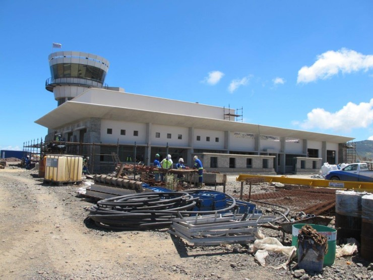 St Helena Airport update - Terminal Building 2