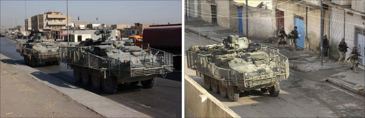 Strykers in Iraq