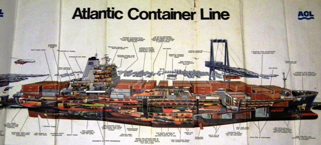 Atlantic Container Line G2 Cutaway