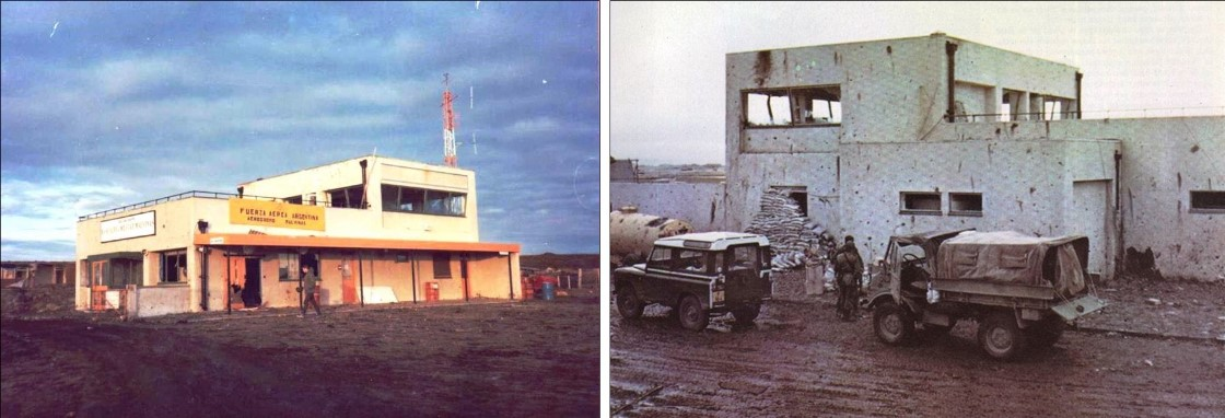 Stanley Airport Control Tower 1982 02